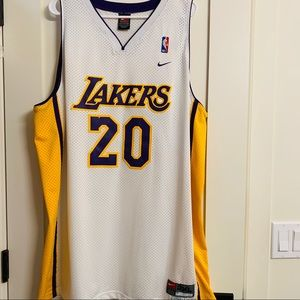 14e2ca59e Nike Shirts - LA Lakers Gary Payton  20 Authentic Jersey
